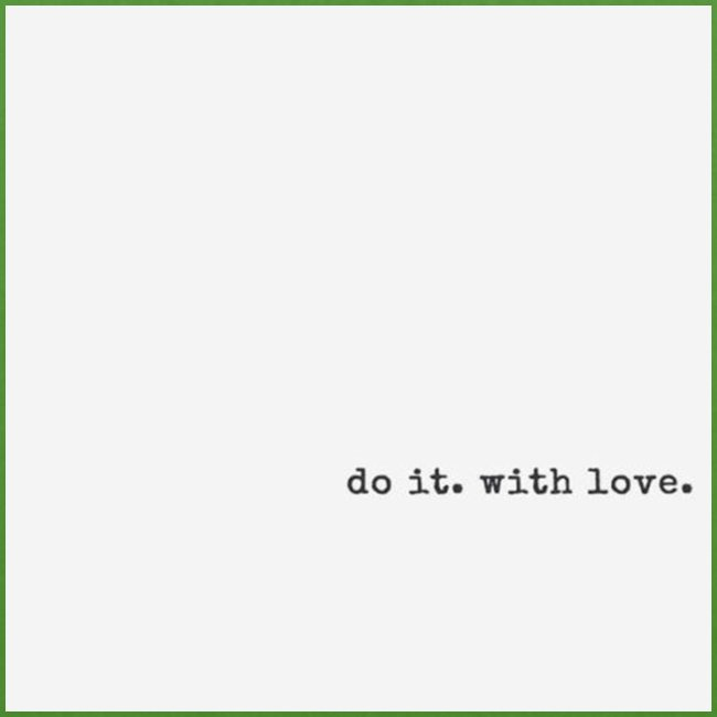 do it with love