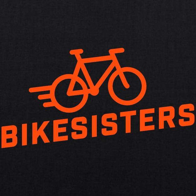 BIKESISTERS Logo black