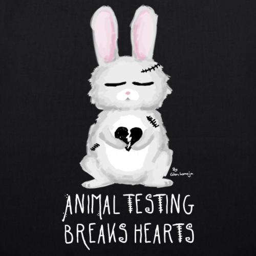 ❤ CHARITY SHIRT ❤ Breaks Hearts - Bio-Stoffbeutel