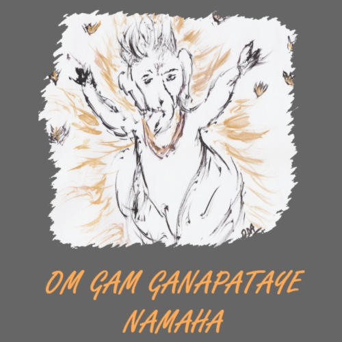 GANESH MANTRA - Sac en tissu biologique