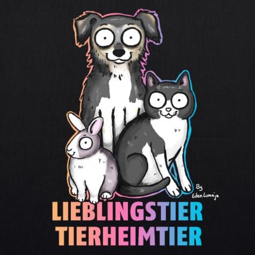 ❤ CHARITY SHIRT ❤ Lieblingstier - Bio-Stoffbeutel