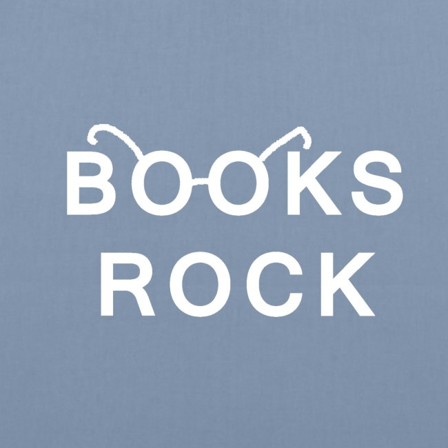 Books Rock White