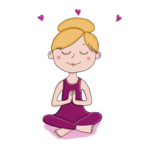 Meditation - Bio-Stoffbeutel