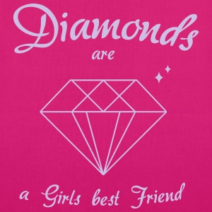 Diamanter er en Girls Best Friend - Bio-stoffveske