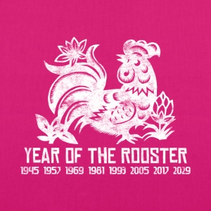 Years of the Chinese Rooster - EarthPositive Tote Bag