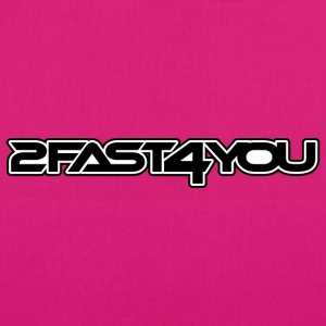 2fast4you - EarthPositive Tote Bag