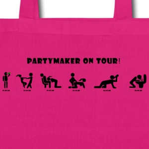 party maker - EarthPositive Tote Bag