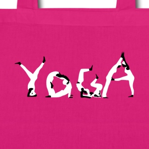 Yoga white - EarthPositive Tote Bag