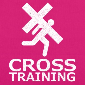 """Cross Training"" (sarkasm) - Ekologisk tygväska"