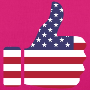 Thumbs up - USA - Bio-Stoffbeutel