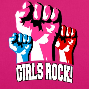 Girls Rock! For Strong Women - EarthPositive Tote Bag