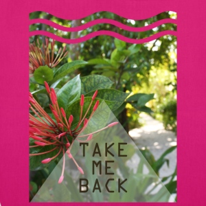 Take me back - EarthPositive Tote Bag