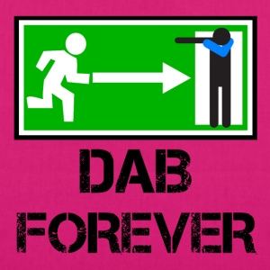 EXIT FOREVER DAB / DAB emergency exit - EarthPositive Tote Bag