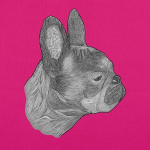 Dog French Bulldog - EarthPositive Tote Bag
