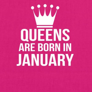 queens are born in january - EarthPositive Tote Bag