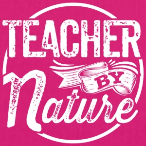 Teacher by Nature - EarthPositive Tote Bag
