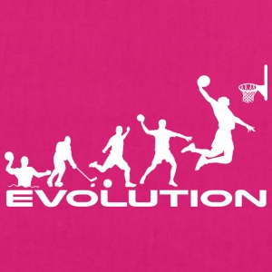 Basketball evolution - EarthPositive Tote Bag