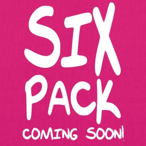 sixpack coming soon - EarthPositive Tote Bag