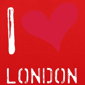 I love London - EarthPositive Tote Bag