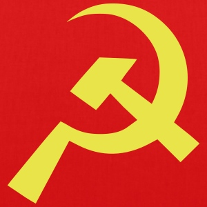 Communist Hammer Sickle Flag - EarthPositive Tote Bag