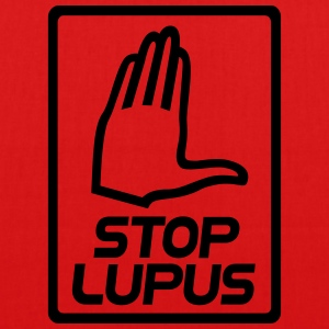 Stop lupus vector - EarthPositive Tote Bag
