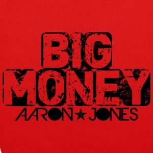 Big Money aaron jones - Bio-Stoffbeutel