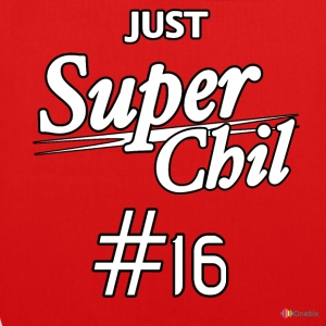 SuperChil shirt - Bio-stoffveske