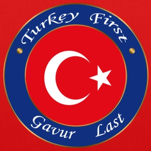 Turkey FIRST - EarthPositive Tote Bag