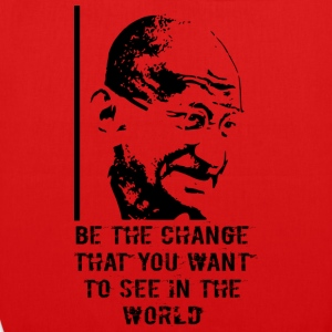 Mahatma Gandhi - EarthPositive Tote Bag