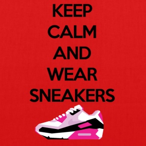 Keep calm and wear Sneakers - Bio-Stoffbeutel