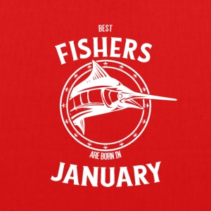 Present for fishers born in January - EarthPositive Tote Bag