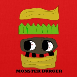 MONSTER BURGER - Bio-stoffveske