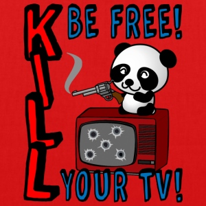 Kill your TV - Bio-Stoffbeutel