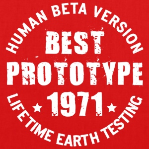 1971 - The year of birth of legendary prototypes - EarthPositive Tote Bag