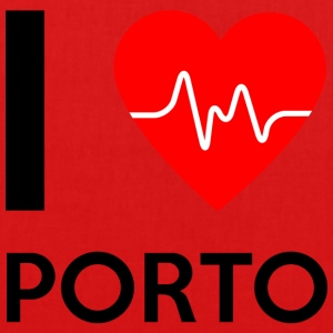 I Love Porto - I love Porto - EarthPositive Tote Bag