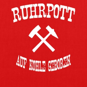 born ruhrpott on coal - EarthPositive Tote Bag