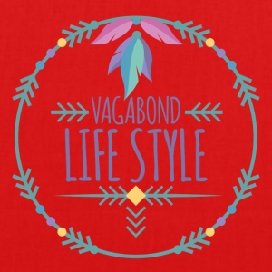 Hippie / Hippies: Vagabond Life Style - EarthPositive Tote Bag