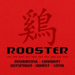 Year of The Rooster - EarthPositive Tote Bag