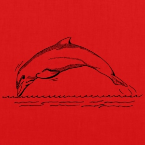 Dolphin - EarthPositive Tote Bag