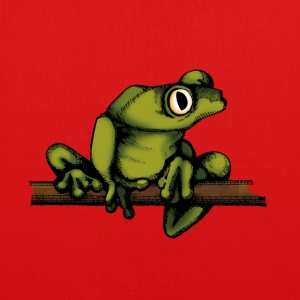 frog-shirt - EarthPositive Tote Bag