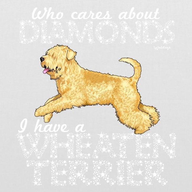 Wheaten Terrier Diamonds 3