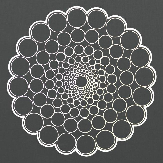 White Spectrum Mandala