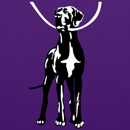 Taschen Dogge - Stoffbeutel