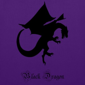 Black Dragon - Tote Bag