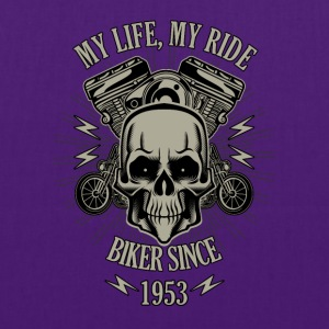 Gift for Biker - Year 1953 - Tote Bag