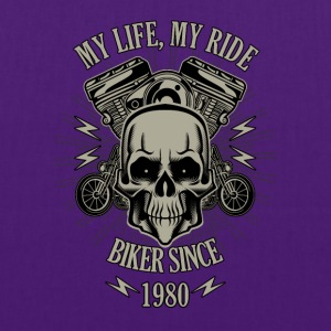 Gift for Biker - Year 1980 - Tote Bag