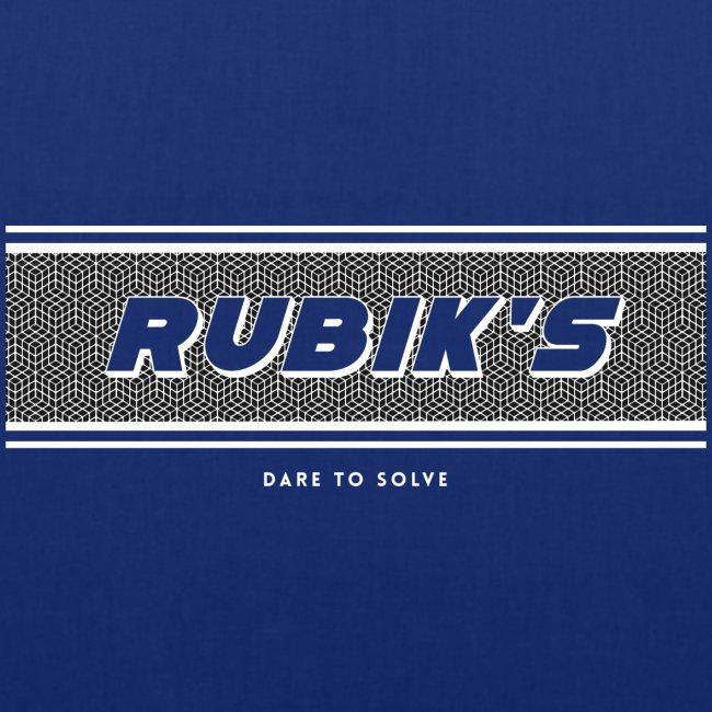 Rubik's Cube Vintage Logo