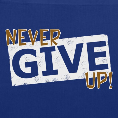 Never Give Up - Kangaskassi