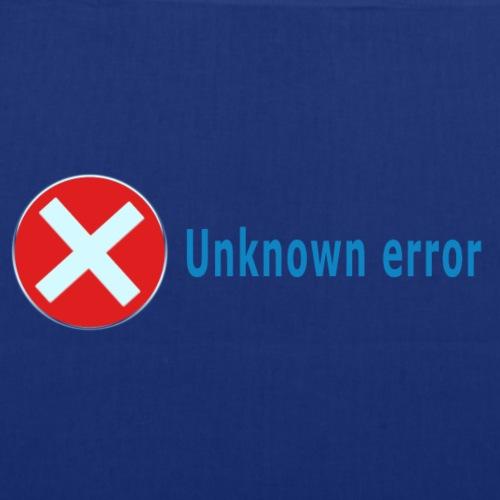 Unkown Error - Kangaskassi