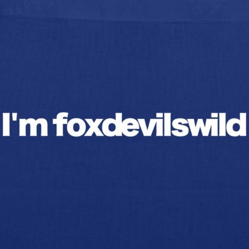 im foxdevilswild white 2020 - Stoffbeutel